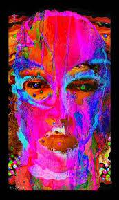 bipolar pink face