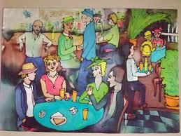 cafe socializing