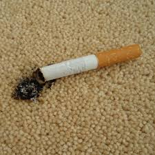 cigarette burn carpet