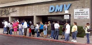 line at DMV