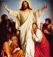 christ-with-open-arms-and-disciples
