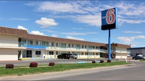 Motel 6 dumpy
