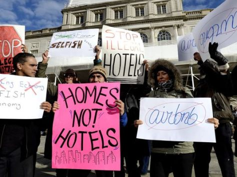 Homes not hotels