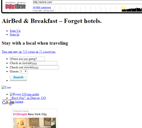 Airbnb in 2009 oldest page (2)