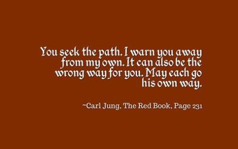 I warn you away from my path