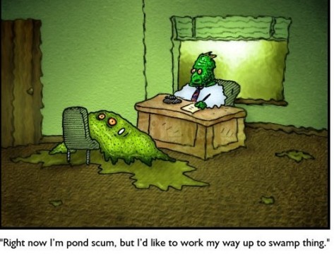 Pond Scum cartoon (2)