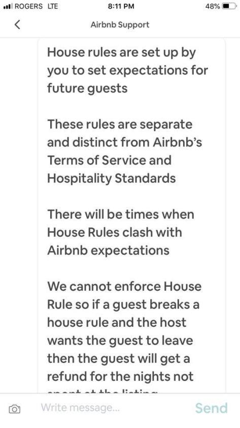 Airbnb on House rule evictions 1