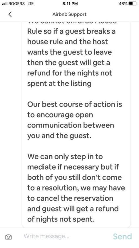 Airbnb on house rule evictions 2