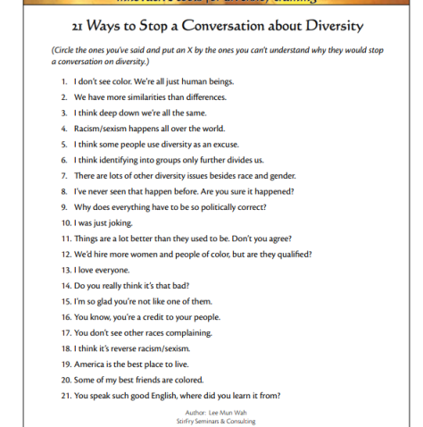 21 ways to stop a conversation about diversity (2)
