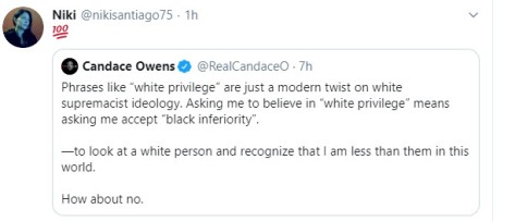 Owens on white privilege